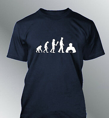 Tee shirt personnalise homme evolution Poker S M L XL XXL humour human sport