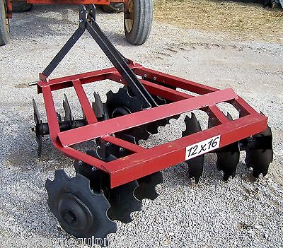 New 12x16 Big Bee 4 1/2 ft. (3 point)  Disc Harrow *We Can Ship, Ask for a Quote