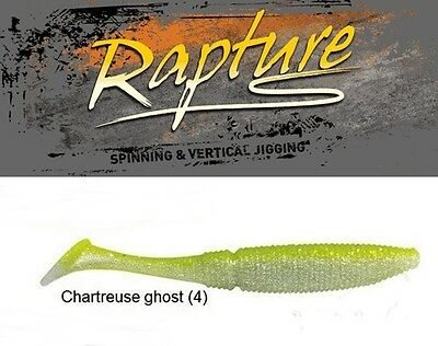 RAPTURE POWER SHAD 3''  7,5cm col. Chart Ghost SPECIALE PERCA BASS TROTA 15pz