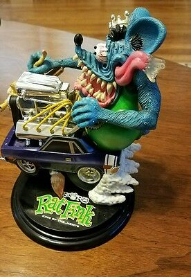 Danbury Mint Rat fink King of the Hemi's Ed (Big Daddy Roth) 2002 REAL NICE FIND