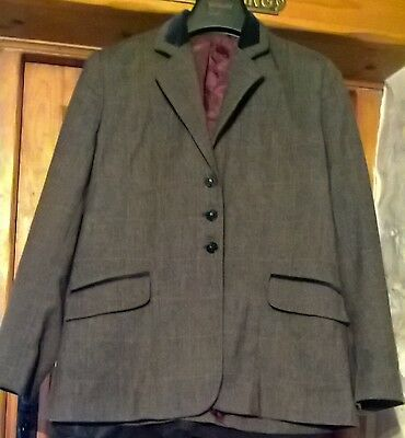 Tagg Ross ladies tweed Riding Show Jacket 38