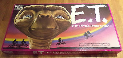 Retro/Vintage E.T. The Extra-Terrestrial Parker Board Game based on Film (1982)