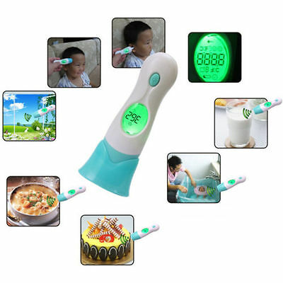 8 in 1 Digital LED Infrared Thermometer Ear and Forehead For Family Baby Kids