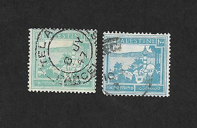 (111cents) Palestine 2 Colored Scott# 80 used