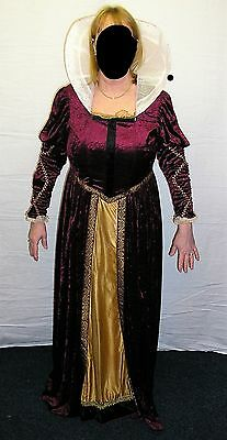 Quality Medieval Costume for Stage/Theatre/Banquets or Fancy Dress - M 14/16