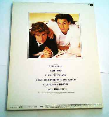 ❤Wham❤ IMPOSSIBLE To Find AS NEW. Japan *Make It Big VHD Release* George Michael