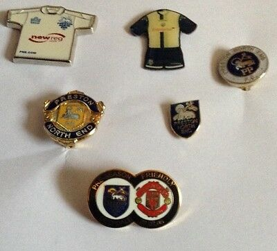 Preston North End Badge Collection