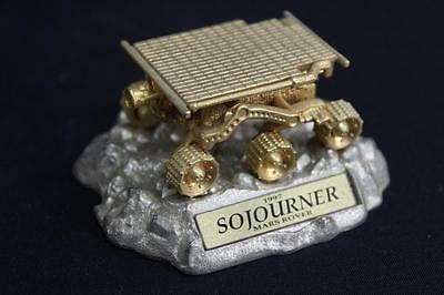 Sojourner Mars Rover Hot Wheels 1997 Limited Edition 1:64 24kt Gold Plated