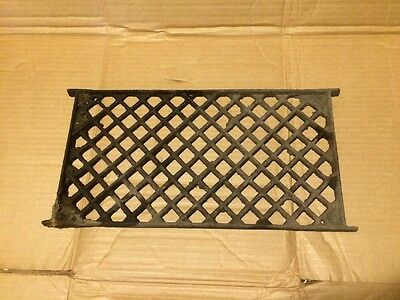Antique Cast Iron Architectural Floor Vent Wall Industrial Salvage Vintage