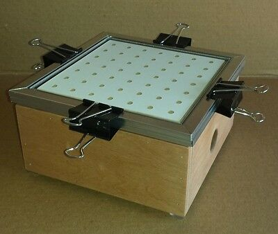 "9"" x 9"" Hobby Vacuum Forming/Former - Thermoform Plastic Vacuum Machine"