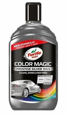 Turtle Wax Colour Magic Shades of Silver Polish 500ml Dynamic Boost
