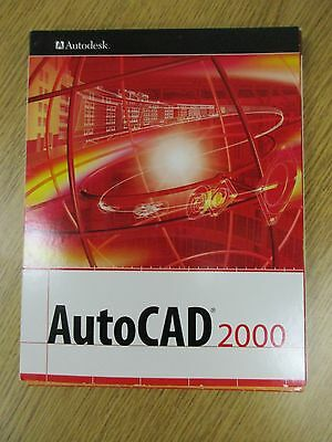 AutoCAD 2000 by Autodesk - Complete Package with all Books - CD Disc's & Numbers