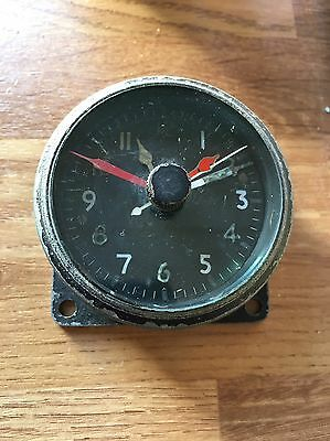 WW2 1944 6A One Day Spitfire Cockpit Clock