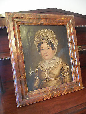 19th Century oil on canvas portrait of a Victorian lady.