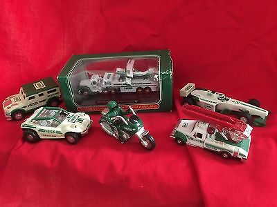 six(6) smaller Hess Collectables