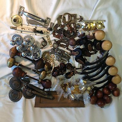Antique Door Knobs Handles Job Lot Mixed Architectural Salvage Reclaimed.