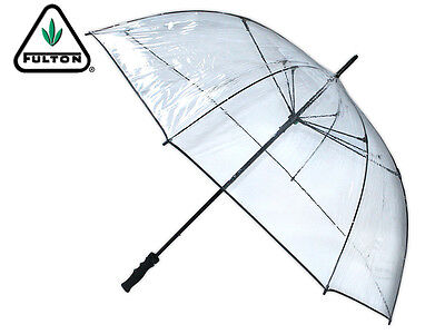 *brand New* Fulton - Clearview - Canopy Pvc Umbrella - Clear