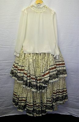 Quality Period Costume for Stage/Theatre/Reenactment or Fancy Dress - Size 10/12