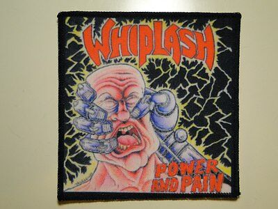 WHIPLASH Power And Pain new printed patch thrash metal