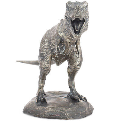 Lost World Collection T-Rex 8 oz .925 Silver Antiqued Finish US Figurine Statue
