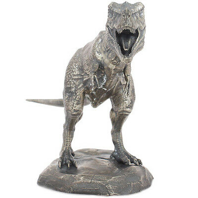 Lost World Collection T-Rex 8 oz .925 Silver Antiqued Finish Figurine Statue