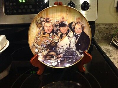 franklin mint heirloom recommendation the three stooges plate