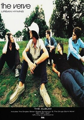 THE VERVE Urban Hymns PHOTO Print POSTER Richard Ashcroft Oasis These People 002
