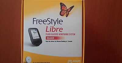 Abbott Freestyle Libre Flash Glucose Reader mmol/l units