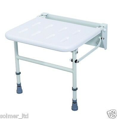 Foldaway Shower Seat With Legs, Nyma Care/Pro, Max Capacity 190kg - 11888