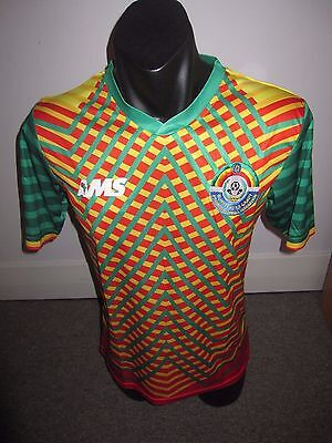 Ethiopia AMS National Team Shirt Jersey Football Soccer X-Large RARE