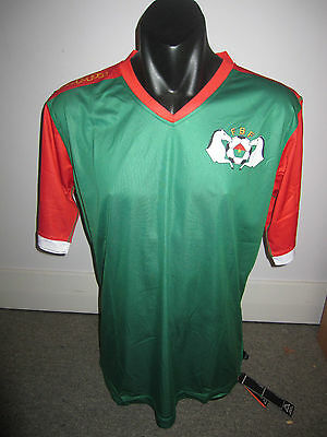 Burkina Faso Kappa National Team Shirt Jersey Football X-Large RARE