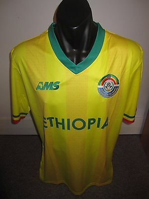 Ethiopia AMS National Team Shirt Jersey Football Soccer Medium RARE