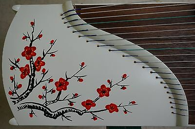 49'' travel size, 21 strings, Chinese Guzheng, Chinese Zither Harp 旅行古箏 -- 古筝