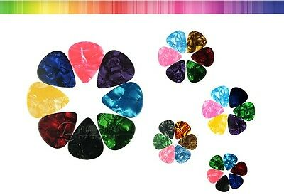 Assorted Pearl Celluloid Guitar Pick