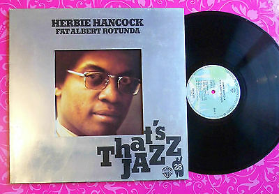 HERBIE HANCOCK Fat Albert Rotunda LP 1976 GERMAN WARNER BROS WB56293 EX CLASSIC!
