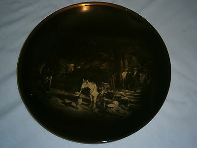 VINTAGE RIDGWAYS DECORATIVE PLATE - R A WARE - Sunday by Collins