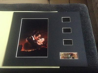 Gone with the wind 10x8 film cell display