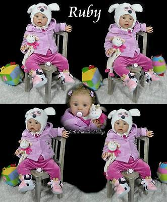 REBORN DOLL KIT ** Ruby Donnelly** NEW BORN Toddler by Phil Donnelly Babies