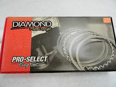 Diamond Pistons Rings #09083995  3.995 Bore-File Fit .043, .043, 3.0mm