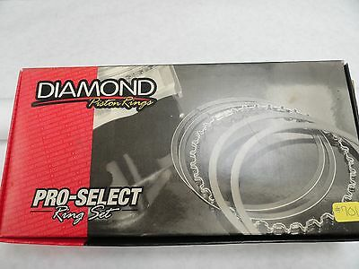Diamond Pistons Rings #09084205  4.205 Bore-File Fit .043, .043, 3.0mm