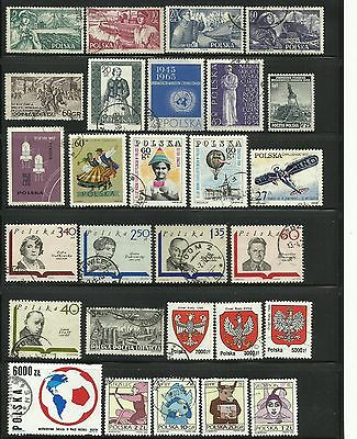 Poland. Sheet of 28 stamps.
