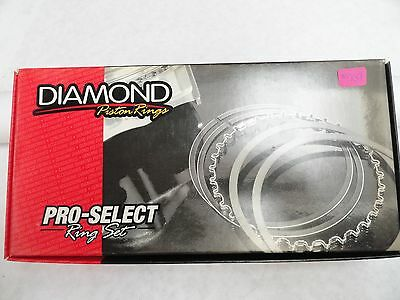 Diamond Pistons Rings #09084675  4.675 Bore-File Fit .043, .043, 3.0mm