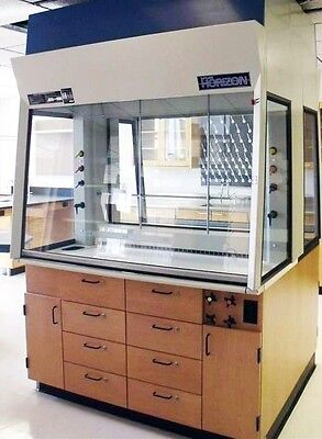 Thermo Scientific / Fisher Hamilton 5'  Horizon Two Sided Teaching Hood  3  used