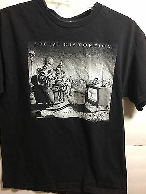 social distortion t shirt size medium mommys little monster punk rock