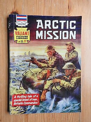 Valiant Picture Library #23 Arctic Mission - VG  Fleetway