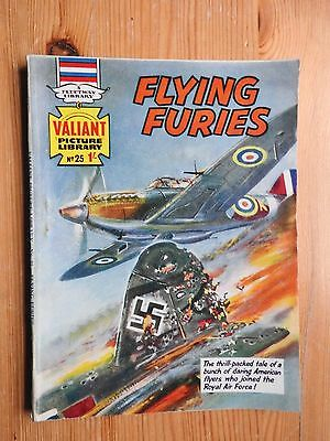 Valiant Picture Library #25 Flying Furies - VG+ Fleetway