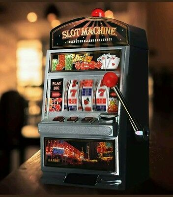 Slot Fruit Machine Casino Unique Gift for Him Coin Bank Save Gifts