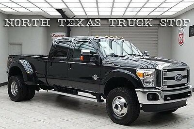 2011 Ford F-350  2011 Ford F350 Diesel 4x4 Dually Lariat LIFTED Vented Seats