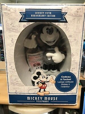 Disney Mickey Mouse 75th Anniversary Edition Phone Rare -NEW OTHER