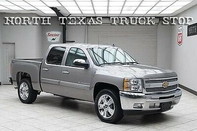 2012 Chevrolet Silverado 1500 LT Crew Cab Pickup 4-Door 2012 Chevy 1500 Silverado LT1 Leather Crew 20s 1 OWNER